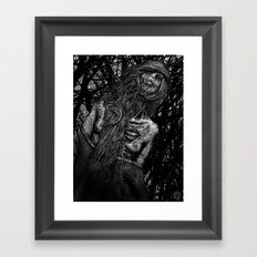 one with the dead Framed Art Print