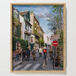 Montmartre II Serving Tray