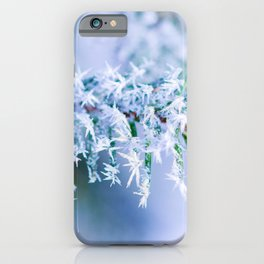Bitter Cold, Winter Colors iPhone Case
