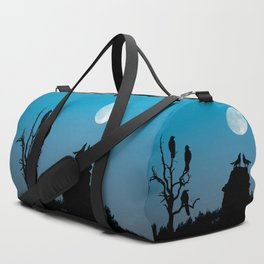 Wolves and crows Duffle Bag