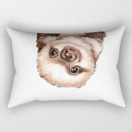 Baby Sloth Rectangular Pillow