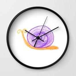 Sammy Snail Wall Clock