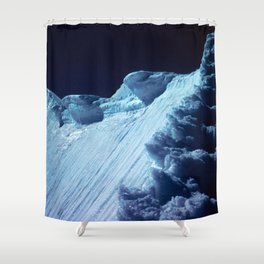 NATURE'S WONDER #2 - Glacier in the dark #art #society6 Shower Curtain