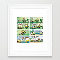 minion Framed Art Prints featuring Minion by Duitk