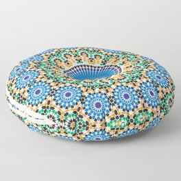 Moroccan Pattern Floor Pillow