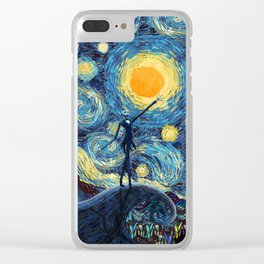 Jack starry nightmare night iPhone 4 5 6 7 8, pillow case, mugs and tshirt Clear iPhone Case