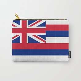 Hawaiian Flag, Official color & scale Carry-All Pouch