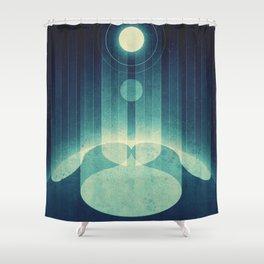 Earth - Aurora Borealis Shower Curtain