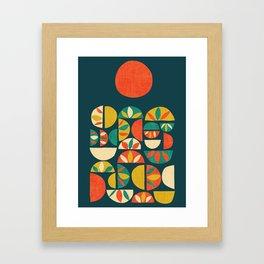 Jumpy Hills Framed Art Print