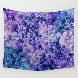Hibiscus Flower Pattern Wall Tapestry