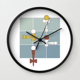 Kendama / passion obsession 1.2 Wall Clock
