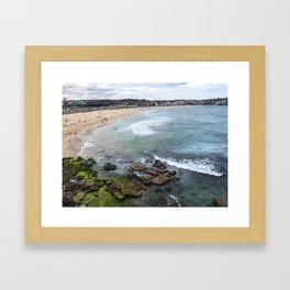 View of Bondi Framed Art Print