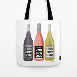 Underwood Wine Tote Bag