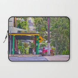 Beautiful street in the country Laptop Sleeve