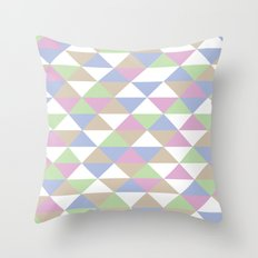 Triangle Pattern #3 Throw Pillow