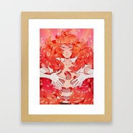 padparadscha Framed Art Print