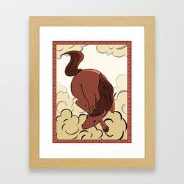 YoTR Horse Framed Art Print