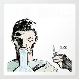 DSA - CLICK Art Print