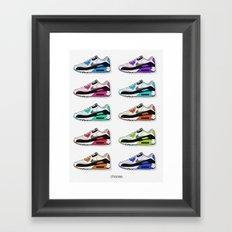Choose. Framed Art Print