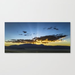 Sunset In Jemez Canvas Print