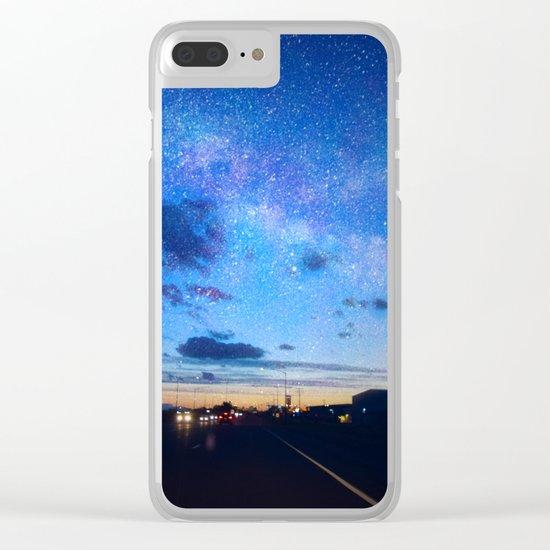 Billings Montana 8 Clear iPhone Case
