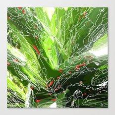 green explosion Canvas Print