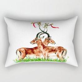Horns Rectangular Pillow