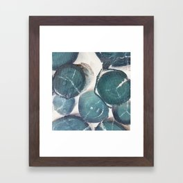 Timber Blue Framed Art Print