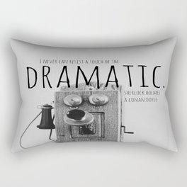 Dramatic Sherlock Holmes Rectangular Pillow
