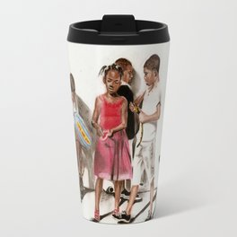PRIDE OF BRAZIL (source photograph by Antonia Jenae' of IKONSEE Imagery) Travel Mug