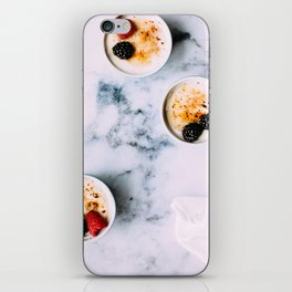 dessert time iPhone Skin