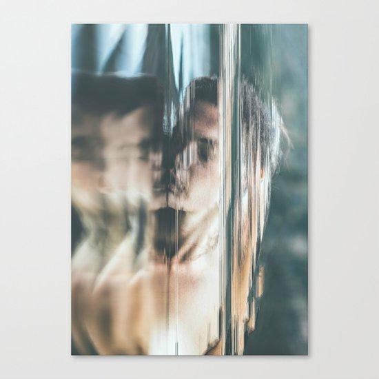 Dreams V (pixel sorted) Canvas Print