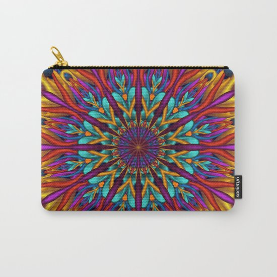Amazing colors 3D mandala Carry-All Pouch