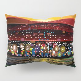 Angel Island Sunset (Square) Pillow Sham