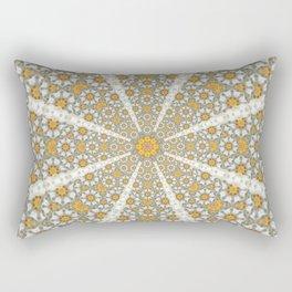 Daisy Fields Mandala Rectangular Pillow