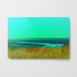 River Alt (Digital Art) Metal Print