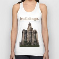 buildings Tank Tops featuring Buildings by Wis Marvin