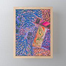 Map your dreams Framed Mini Art Print