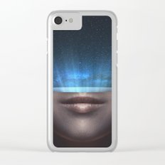 Universe in my mind #stars Clear iPhone Case