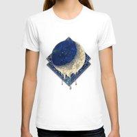 lunar T-shirts featuring Lunar Nebula by cosmicstories