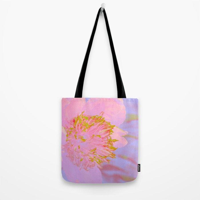 Flower Glow Tote Bag