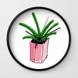 Water Your Plants Wall Clock