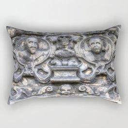 Guards Of The Tomb Rectangular Pillow