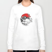 pokeball Long Sleeve T-shirts featuring POKEBALL by Smart Friend