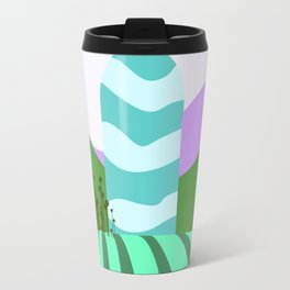 Stripes landscape  Travel Mug