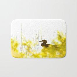 Bird by the lake #decor #society6 #buyart Bath Mat