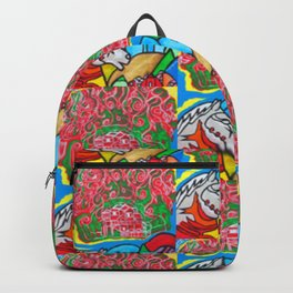 Happy Trails  #Society6  #decor  #buyart Backpack