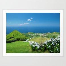 Azores landscape Art Print