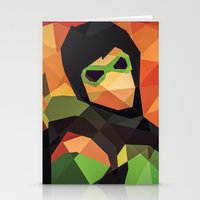 dc comics Stationery Cards featuring DC Comics Green Arrow by Eric Dufresne