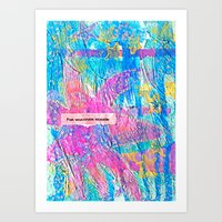 For Whatever Reason Art Print